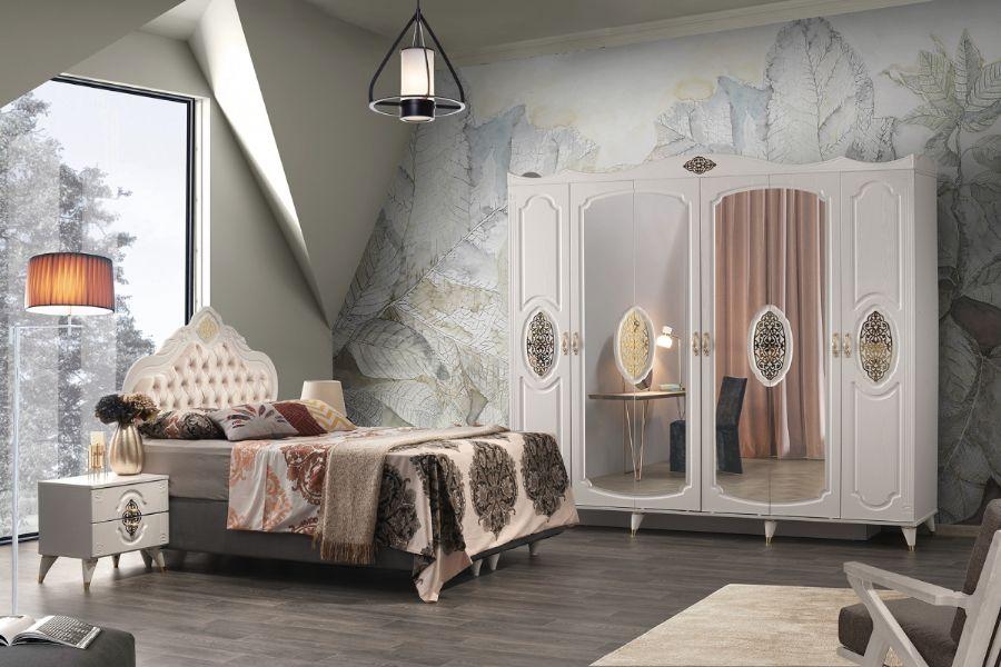 Violet Yatak Odası Takımı